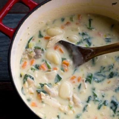 Creamy Turkey Gnocchi Soup