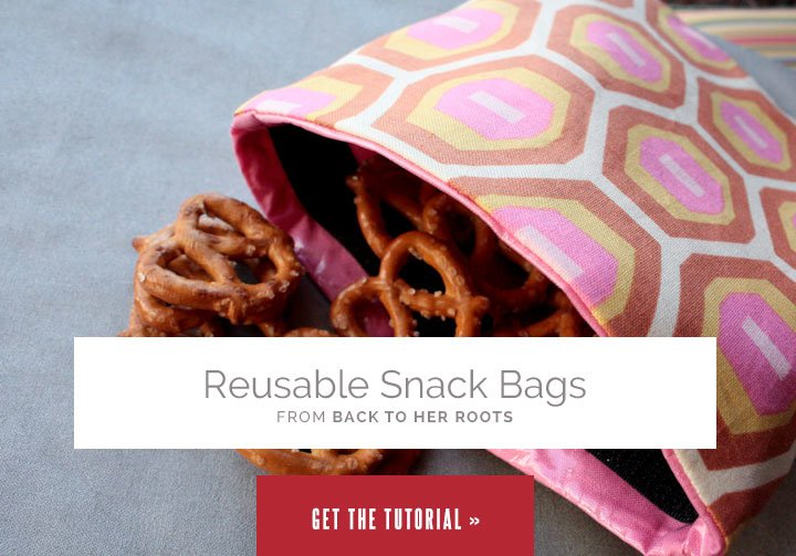 Reusable Snack Bags from Wholefully