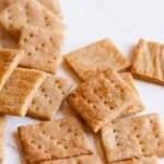 Whole Wheat Parmesan Crackers