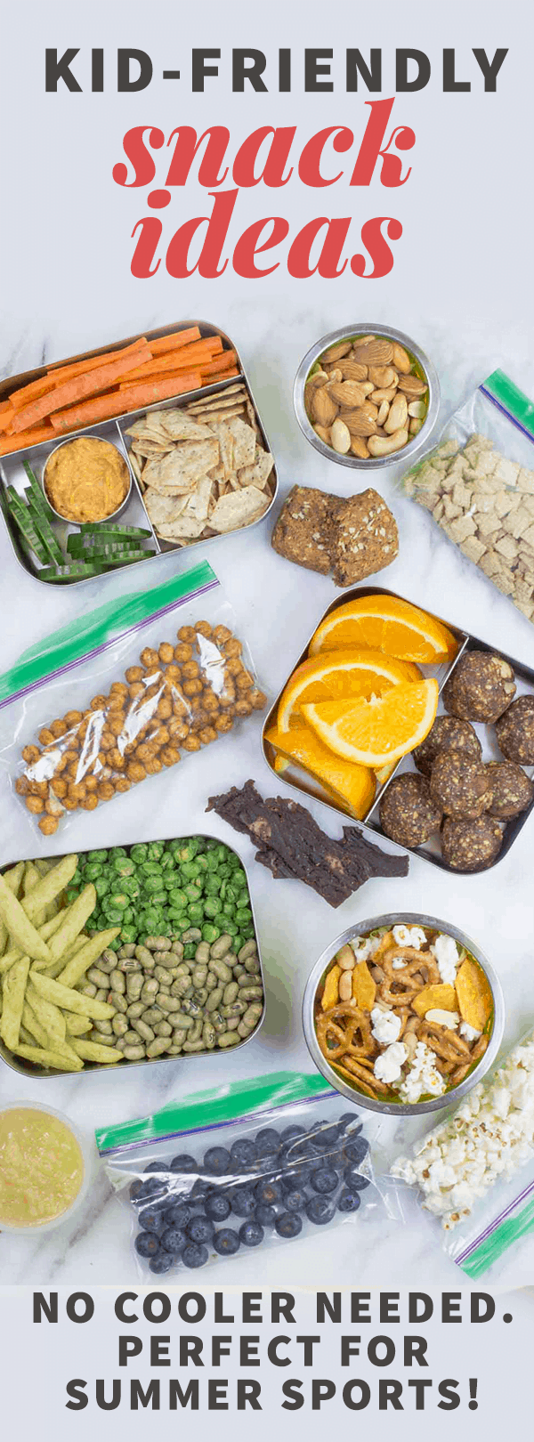 Kid-Friendly Snacks for Summer Sports