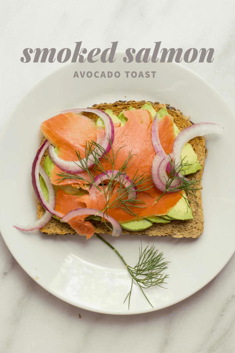 Smoked Salmon Avocado Toast