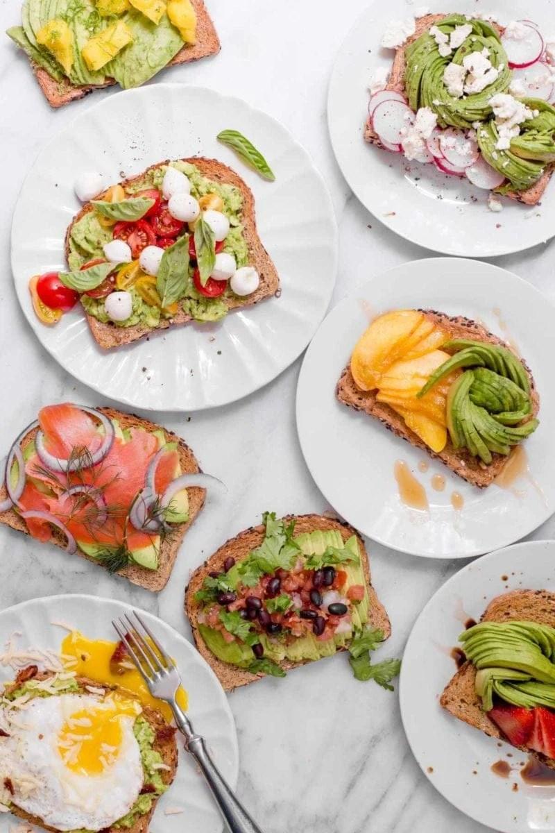 8 Sweet and Savory Ways to Eat Avocado Toast
