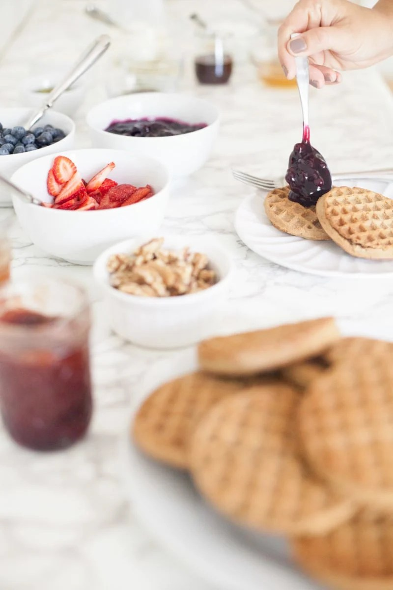 How to Throw a Waffle Party