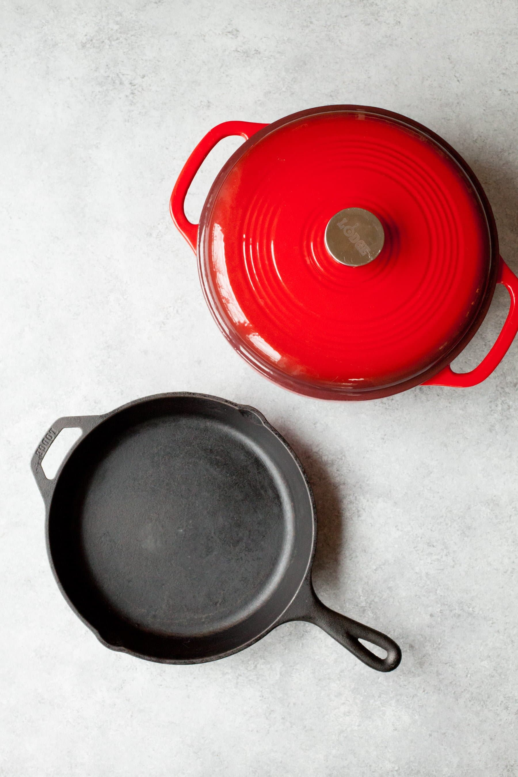 Cast Iron Skillet and Dutch Oven