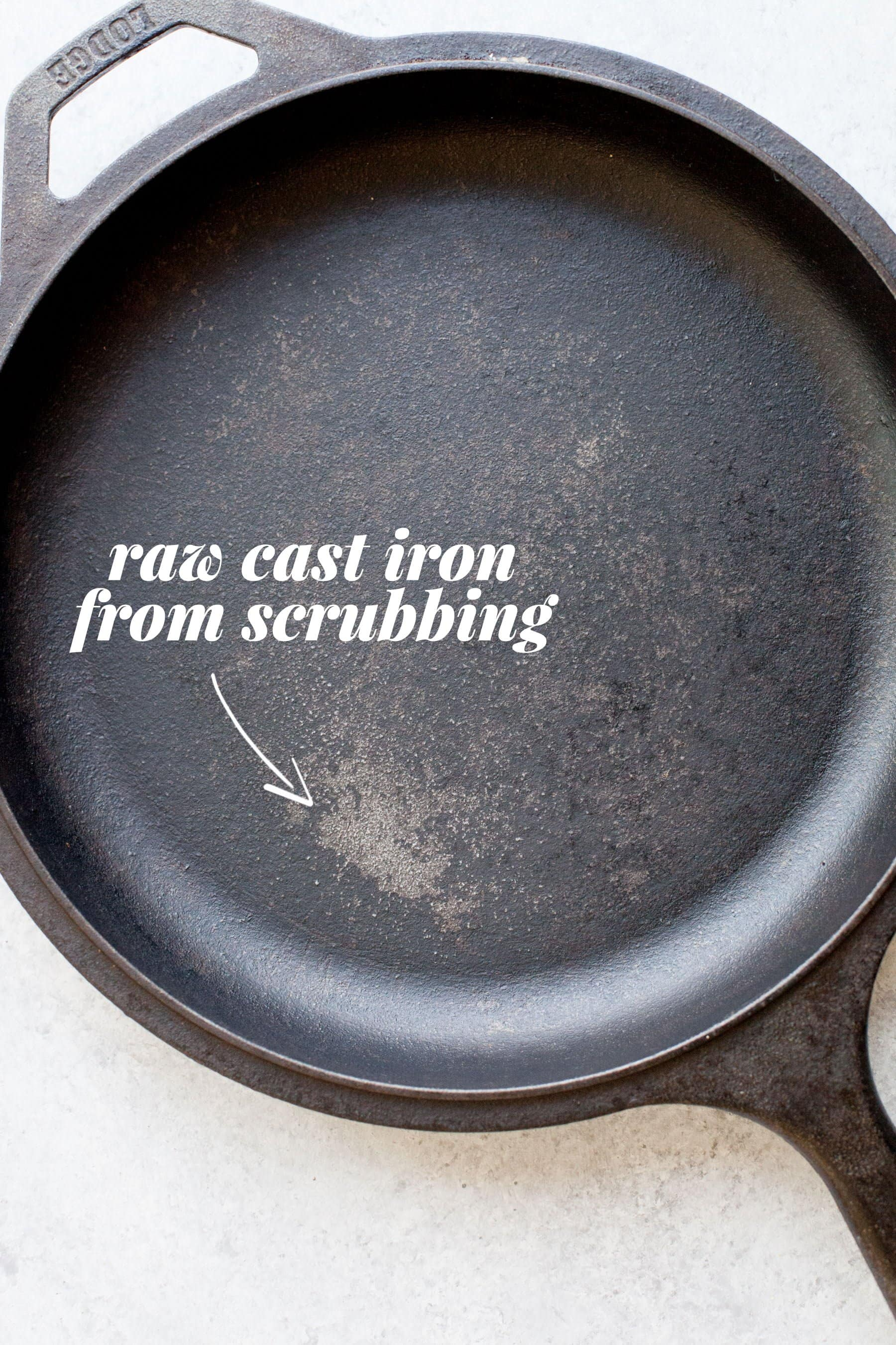 Raw Cast Iron