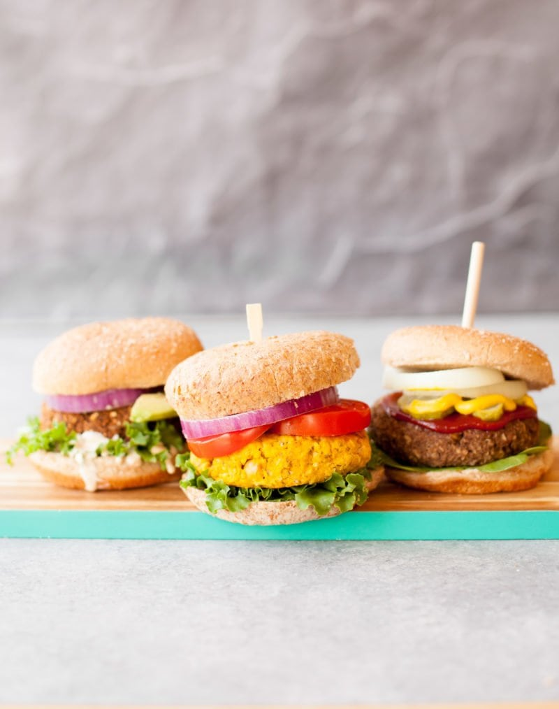 Stock Your Freezer with These 3 Awesome Veggie Burgers