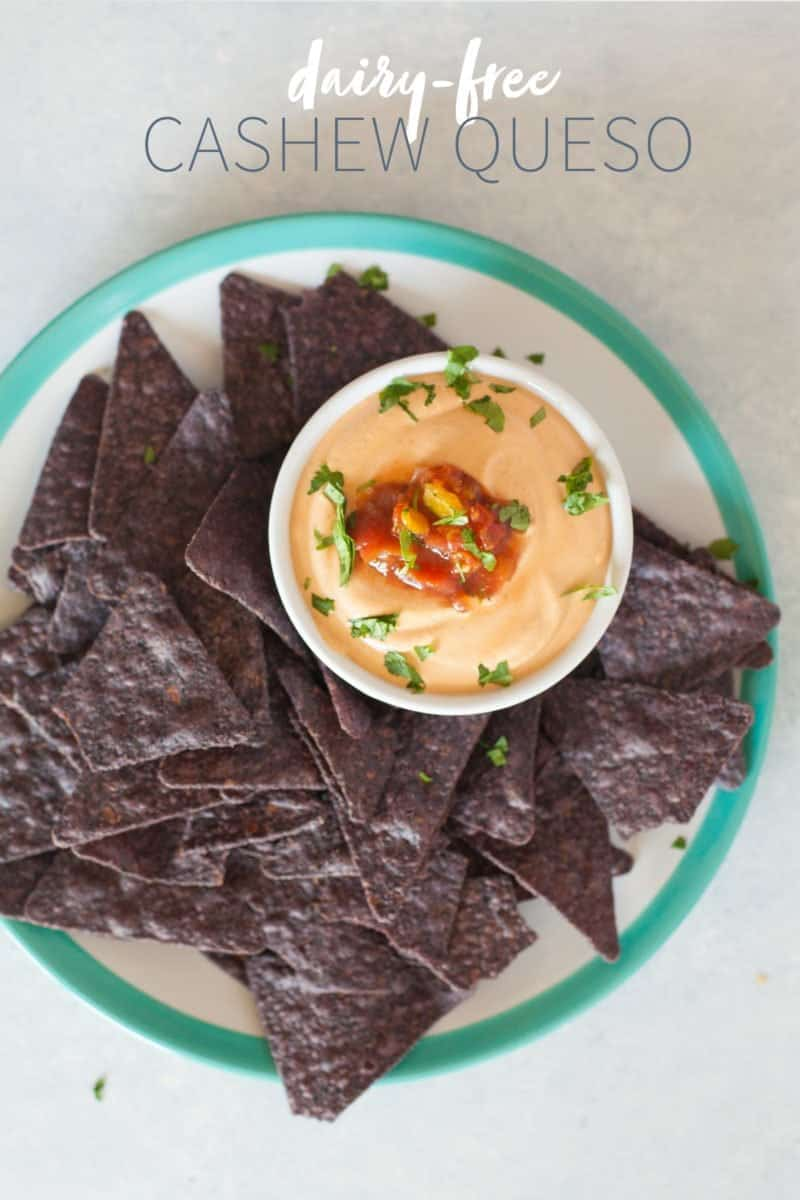 Dairy-Free Cashew Queso