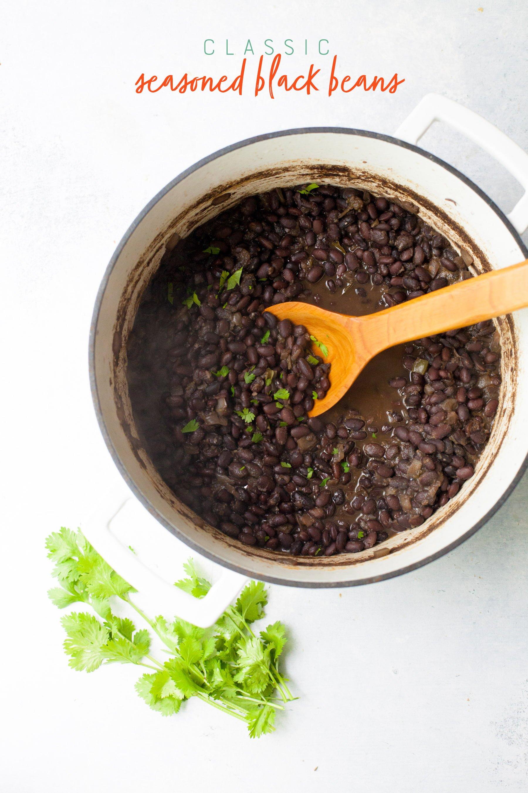 Classic Seasoned Black Beans