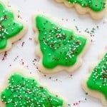 Cut-Out Sugar Cookies and Sugar Cookie Icing Recipe