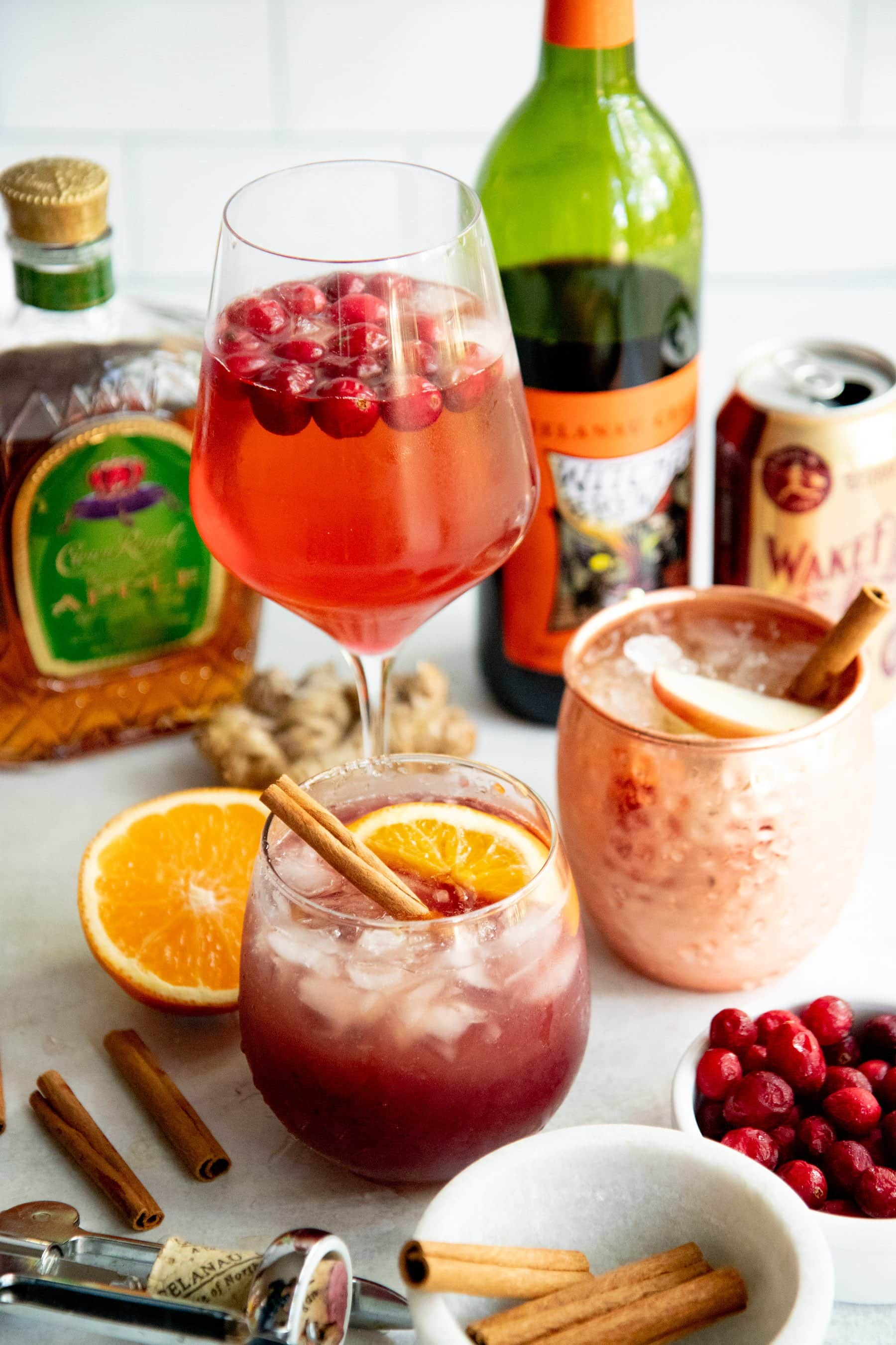 3 Healthier Kombucha Cocktails For Autumn Wholefully