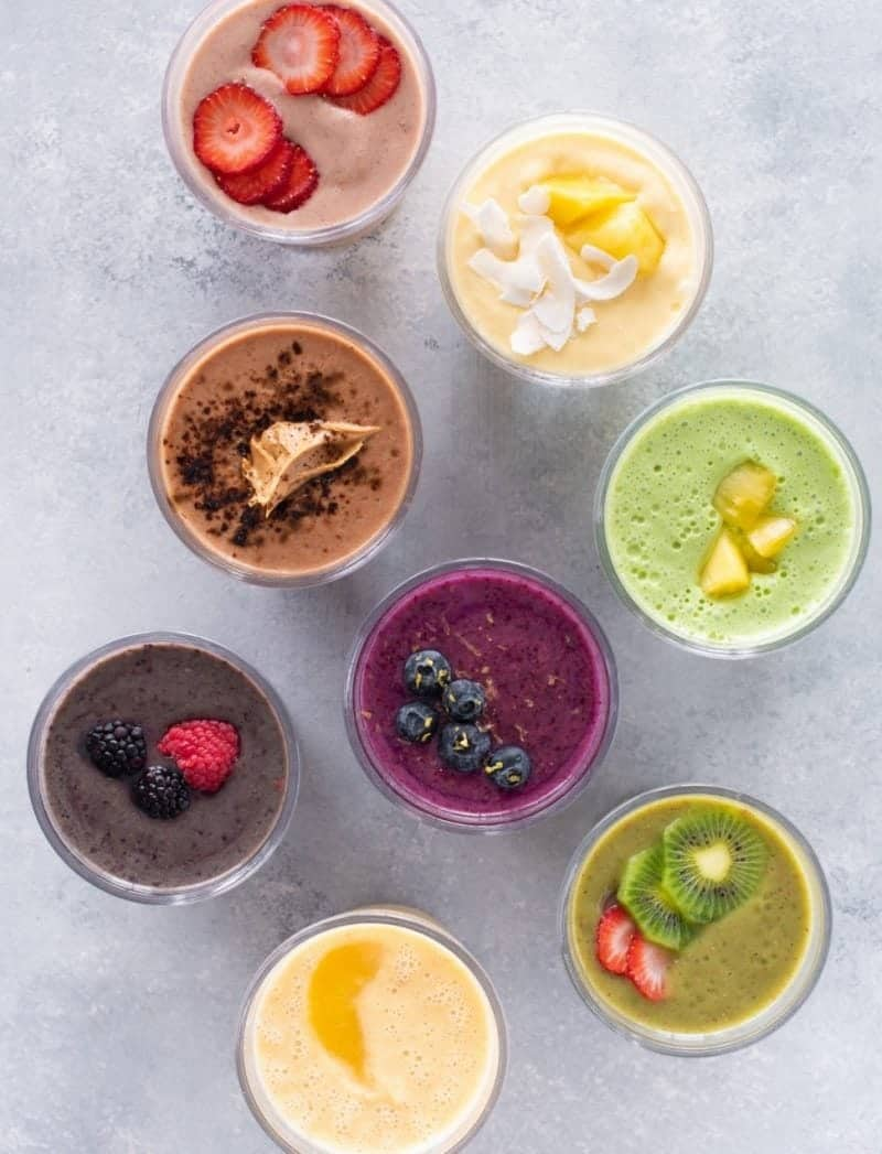 Easy Healthy Smoothie Recipes Uk