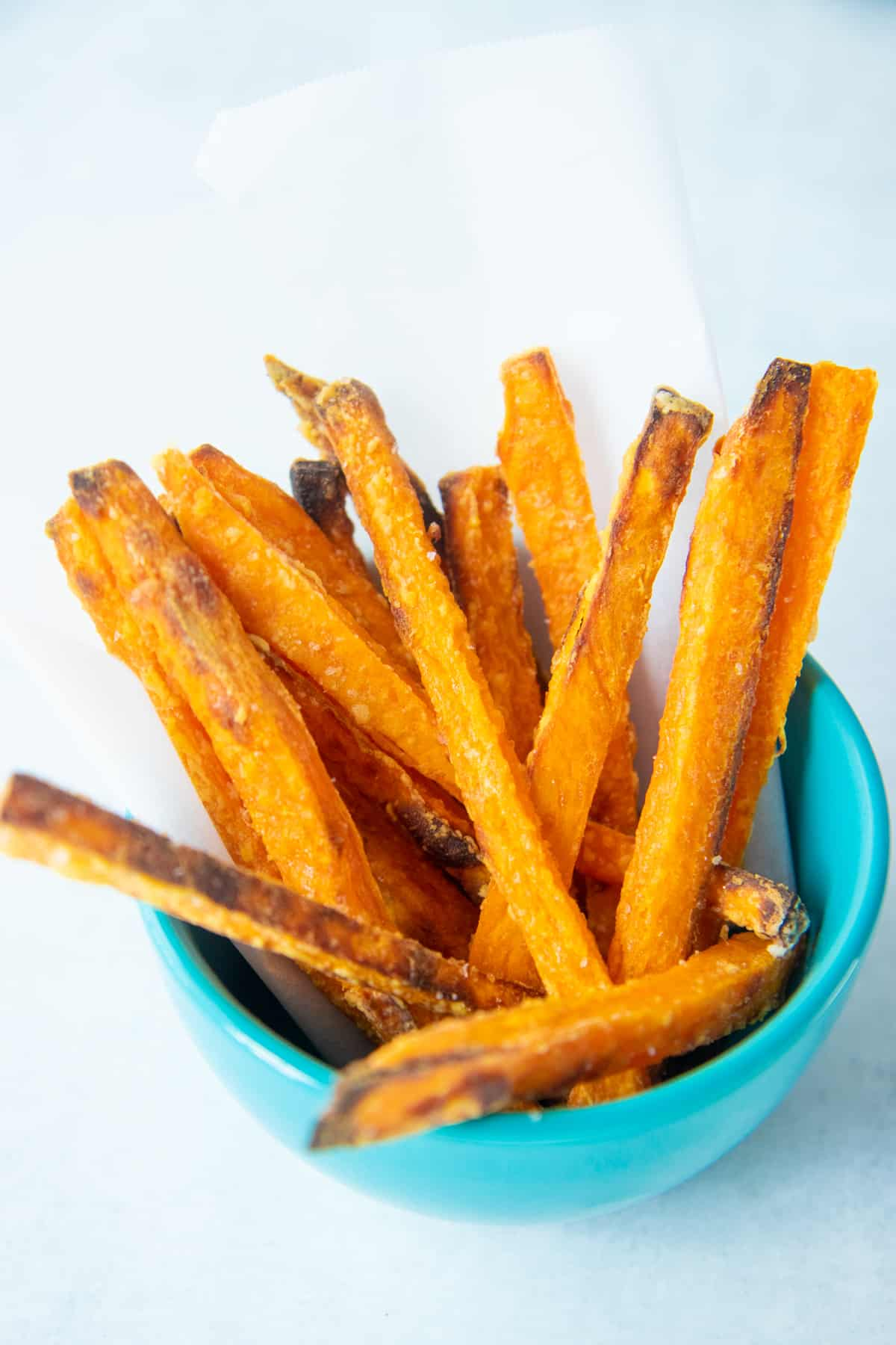 Crispy Sweet Potato Fries Baked In The Oven Wholefully