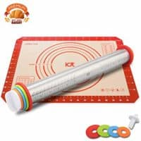Rolling Pin and Baking Mat