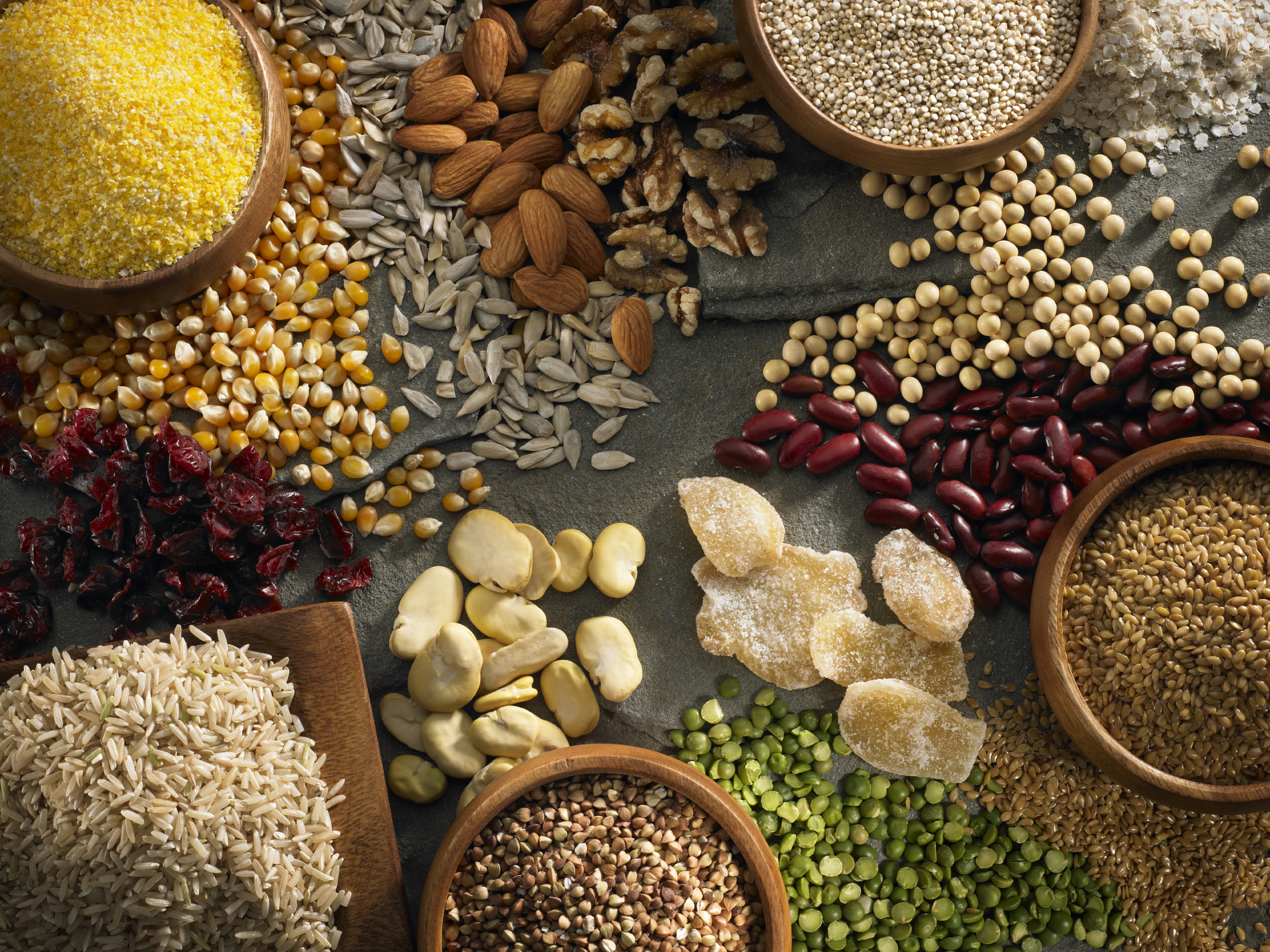 Whole Grains And Pulses