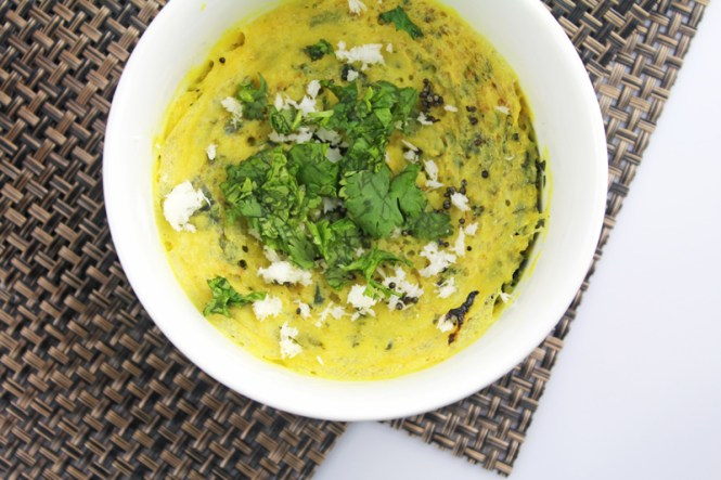 Microwave-Khaman-Oats-Dhokla-With-Spinach-3