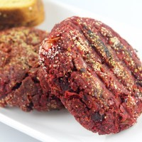 Beetroot Channa/Chickpeas Cutlets/Patties (No potatoes)