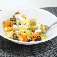 Avocado Butternut Squash Chaat/Snack