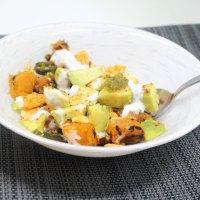 Avocado Butternut Squash Chaat/Snack