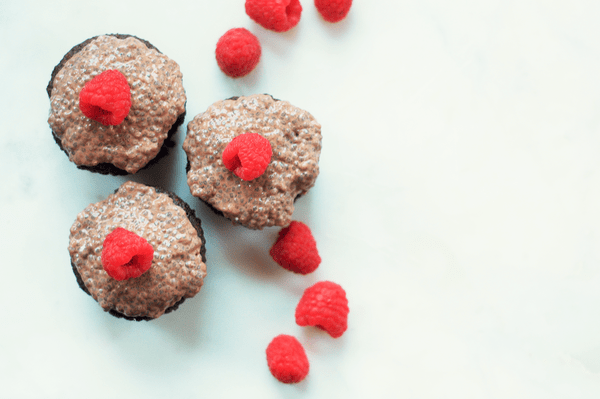 add chia seeds to muffin mix to make your baked goods more nutritious