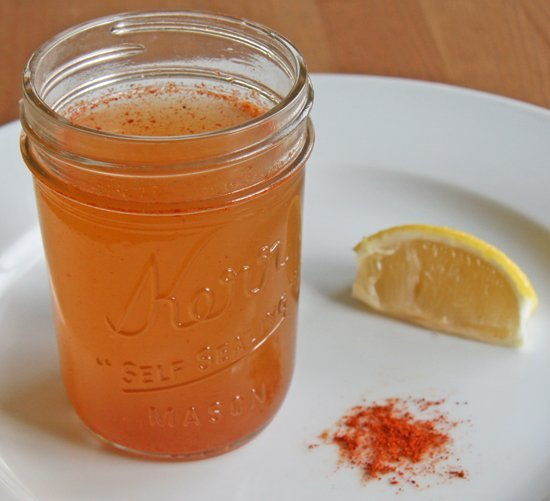 ignite your system with this apple cider vinegar morning drink with cayenne pepper and lemon