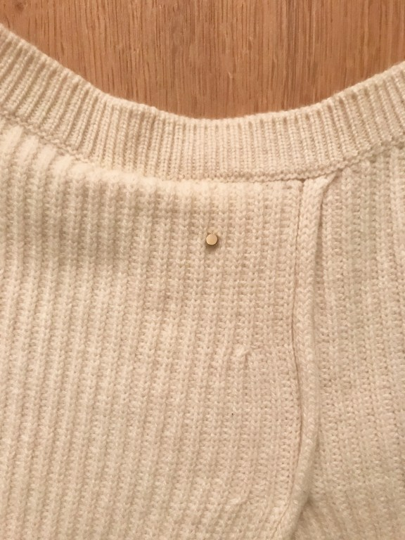 Cuyana Ribbed Sweater Detail 3