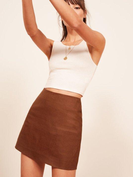 reformation-donna-skirt