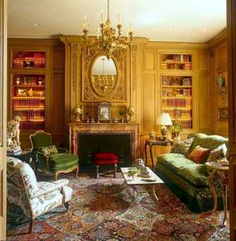 47 fancy french country living room design ideas