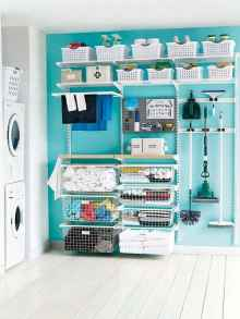 49 cool small laundry room design ideas