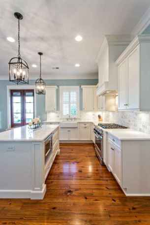 64 stunning white kitchen cabinet makeover ideas