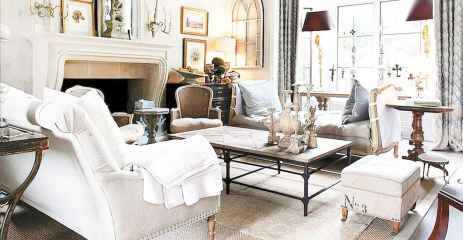 65 fancy french country living room design ideas