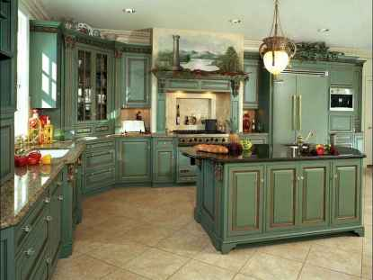 68 beautiful french country kitchen design and decor ideas