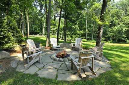 03 easy diy fire pit for backyard landscaping ideas