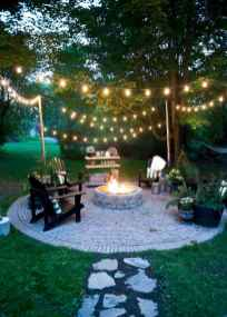 04 easy diy fire pit for backyard landscaping ideas