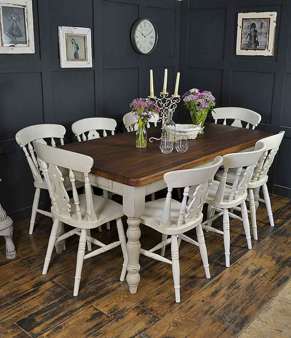 07 gorgeous farmhouse dining room table and decorating ideas