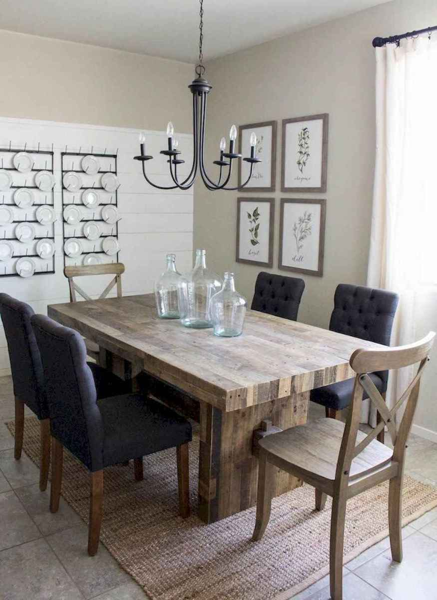 26 gorgeous farmhouse dining room table and decorating ideas