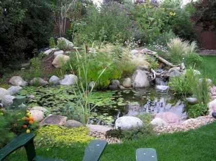 28 awesome backyard ponds and water feature landscaping ideas