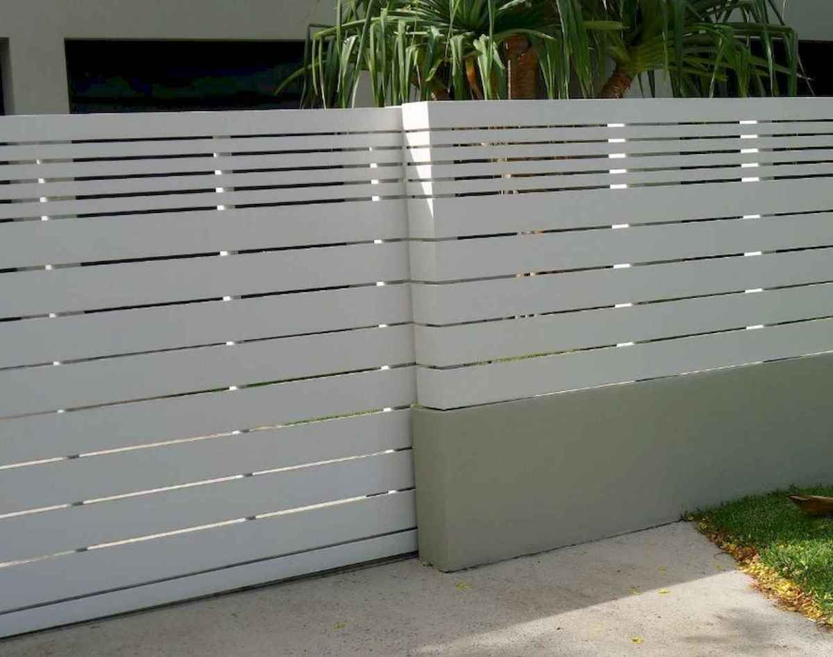 33 easy creative privacy fence design ideas