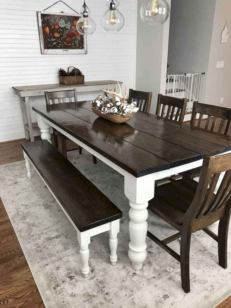 34 gorgeous farmhouse dining room table and decorating ideas