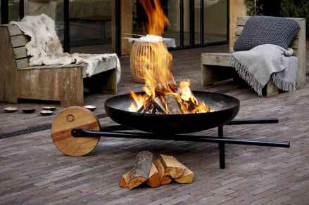 48 easy diy fire pit for backyard landscaping ideas