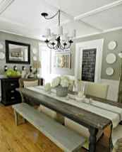 52 gorgeous farmhouse dining room table and decorating ideas