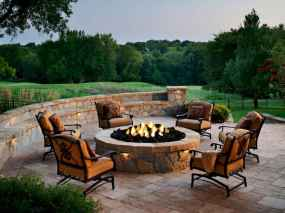63 easy diy fire pit for backyard landscaping ideas