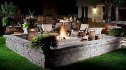 71 easy diy fire pit for backyard landscaping ideas
