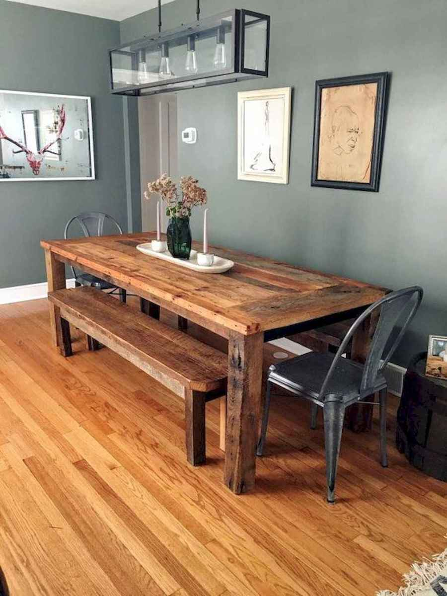 75 gorgeous farmhouse dining room table and decorating ideas