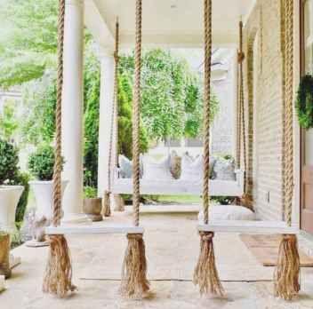 01 hang relaxing front porch swing decor ideas