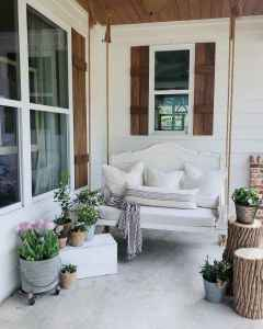06 hang relaxing front porch swing decor ideas