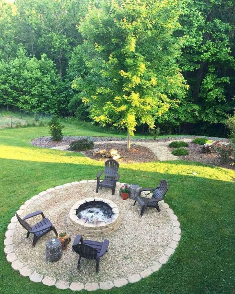 08 awesome outdoor fire pit seating design ideas for backyard