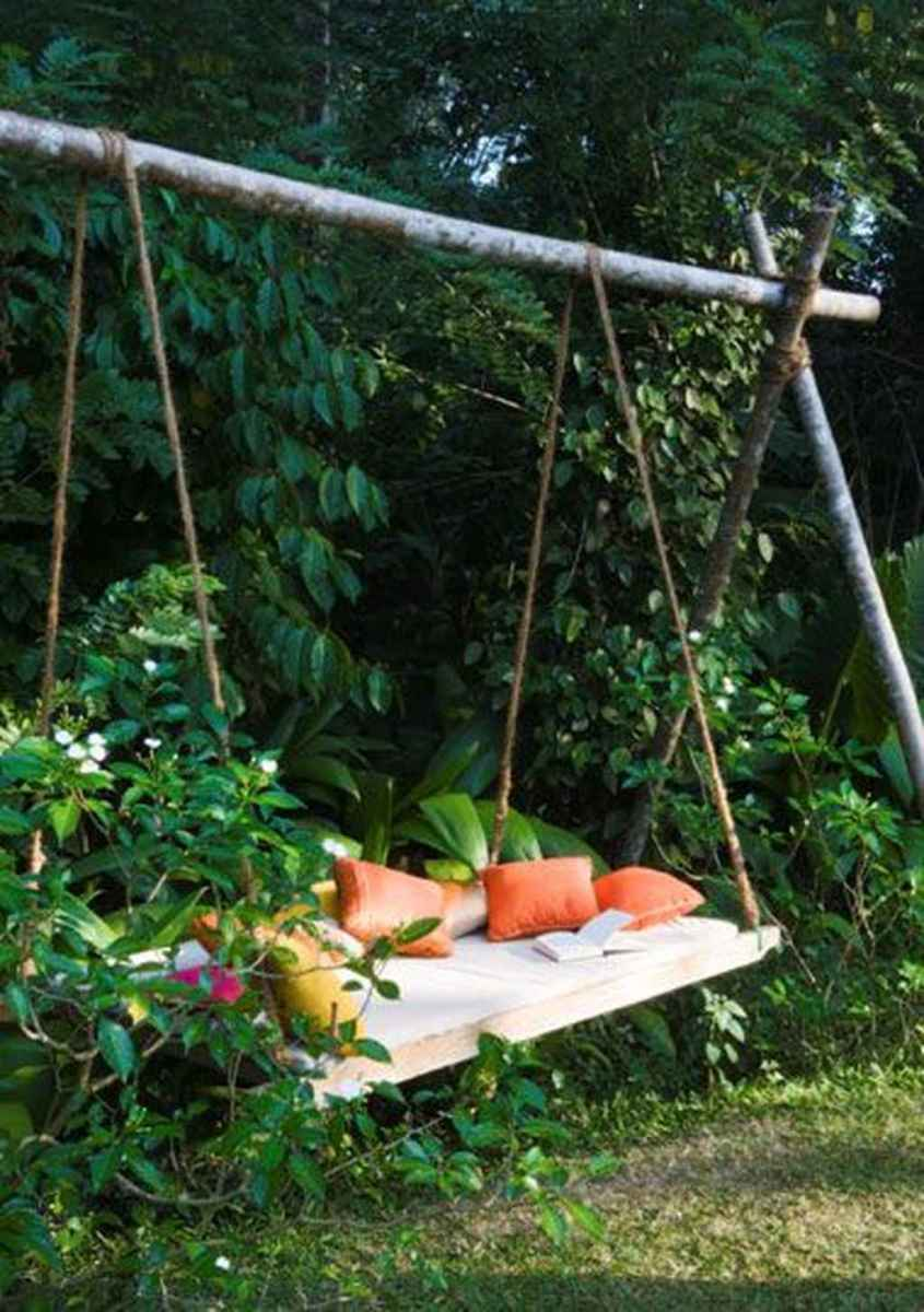 11 amazing backyard ideas with garden swing seats for summer