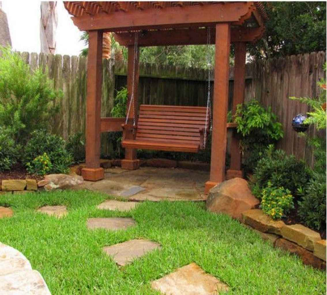 12 amazing backyard ideas with garden swing seats for summer