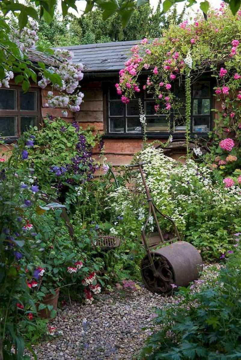 23 beautiful front yard cottage garden landscaping ideas