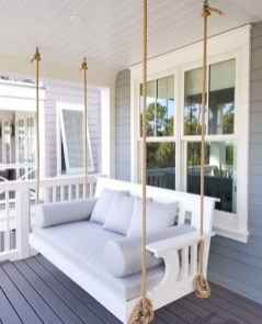 24 hang relaxing front porch swing decor ideas